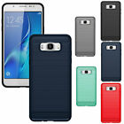 Slim Brushed Shockproof Hybrid Rubber Armor Cover Case For Samsung Galaxy Phones