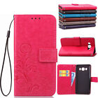 Flip Shockproof Leather Card Pocket Stand Case Cover For Samsung Galaxy J7J5J3J1