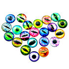 Wholesale Glass Cat Dragon Eye Cameo Dome Cabochon Time Gem DIY Jewelry Making