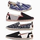 Mens Bellfield Slip On Canvas Espadrilles Plimsolls Trainers Pumps Shoe Size