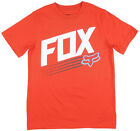 Boys Fox Racing Niotaze Regular Fit T-Shirt Motocross Style Youth Red