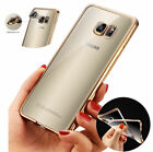 ShockProof Silicone Rubber Clear Case Cover For Samsung Galaxy Note5/S6/S7 Edge