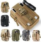 Tactical Molle Pouch Belt Military Hiking Camp Waist Mini Pack Bags Phone Pocket