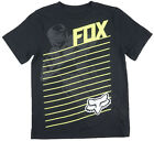 Fox Racing Motocross Regular Fit T-Shirt Sport Extreme Style Tee Top Kids Black