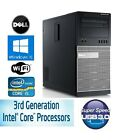 Dell OptiPlex 7010 Tower Intel i5 Quad 3rd Gen Windows 7/10 250GB USB 3.0 WiFi