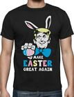 Trump Make Easter Great Again Funny T-Shirt Easter Bunny & Egg