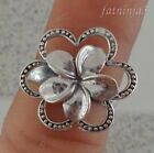 Frangipani Design Bali Handcrafted Solid Silver, 925 Ring 37454