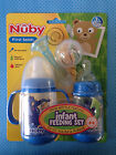 Nuby Infant Feeding Set Infa Feeder InfaFeeder Bottles Baby Soild Puree Food NEW