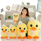 plush toy stuffed doll navy tie cap yellow duck cute gift present animal 1pc