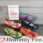 HEAVENLY FEET CARRIE MEMORY FOAM SHOES LADIES FLY'IN OUT LADIES NEW WEDGE GIRLS