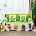 Grempy Owl Canvas SlipCover Sofa Cover oAUl Protector for 1 2 3 4 seater LAUBT