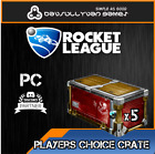 Rocket League Crate  PC Player Choice Crate Fast Delivery