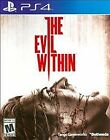 The Evil Within - PlayStation 4 Brand New Ps4 Games Sony Factory Sealed