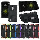 Rugged Armor Kickstand Protective Case for LG Aristo / LG K8 2017 / LG LV3 M210