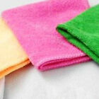 Bamboo Microfiber Cleaning Cloths Kitchen Dish Wash Towels 20*20CM Household
