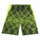 Nike Boys Legacy Shorts Dri-Fit Polyester Black Volt Kits size 4 XS NEW
