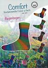 € 5,95/ 100g H+W Comfort Cotton Stretch Color Sockenwolle Regenbogen 417