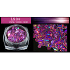 1BOX Round Laser Sequins Gilter Nail Ornaments Nail Art Manicure Decoration DIY