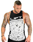 Strong Liftwear Men Boulder Sleeveless Flecks Tank Top Gym Bodybuilding Singlet