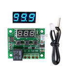 W1209 Blue DC 12V Thermostat Temperature Control Switch Policy Thermometer+Case
