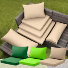 Rattan Furniture Replacement Cushions Sofa Water Resistant Garden Covers Pads