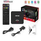 Smart TV Box Android 6.0 4K Quad Core 8GB Wifi HD Media Player + Black Keyboard