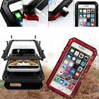 Shockproof Aluminum Glass Metal Case Cover For Iphone 5s 6 7 & Plus Se