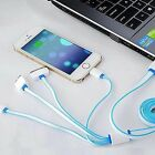 Multi function 4 in 1 USB Charger Charging Cable Cord For Cell Phone Power Bank