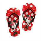 MINNIE MOUSE Girls Flip Flops w/Optional Sunglasses NWT Toddlers Beach Sandals