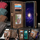 Samsung Galaxy S8 / S8+ Plus Leather Removable Wallet Magnetic Flip Cover Case