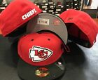 New Era 59FIFTY Kansas City Chiefs RED Official NFL On Field Cap Fitted Hat 5950 $22.36 USD on eBay