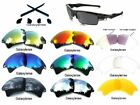 Galaxy Replacement Lenses For Oakley Fast Jacket XL Sunglasses Multi-Color