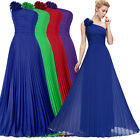 Long Formal Evening Dress Gowns Wedding Bridesmaid Cocktail Prom Party Dresses