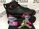 Air Jordan Retro 7 Hyper Pink GS 442960-018 Black New NEW ON HAND SHIPS NOW 5-7