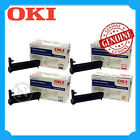 Any 1x OKI Genuine 44035529-44035532 BK/C/M/Y/SET Imaging Drum Unit-