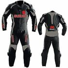 Suzuki GSXR Motorcycle Leather Suit MotoGp Sports Motorbike Furious Leather Suit