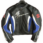 Suzuki Hayabusa Motorcycle Leather Jacket Sports Motorbike Leather Racing Jacket