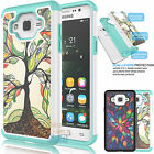 Hybrid Impact Rubber Defender Hard Case Protective Cover for Samsung Galaxy On5