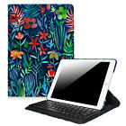 Slim iPad Air 2013 9.7 Inch Bluetooth Keyboard Case Multiple Angles Stand Cover