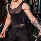 Men's Fitness Workout Breathable Vest Waist Belt Body Tummy Trimmer Shapewear