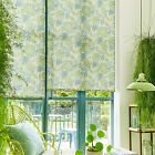 **Totally Tropical** Aquarius HOWLEY GREEN straight edge ROLLER BLINDS