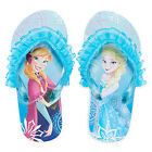 DISNEY FROZEN Flip Flops w/Optional Sunglasses Girls Toddler Beach Sandals NWT