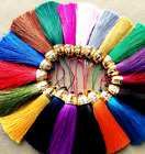"18 colours 2""3/4 (7cm) Length Long Tassel Fringe Fashion Craft Tassel Trim (B10)"
