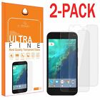 2X Premium Real Tempered Glass Film Screen Protector Guard for Google Pixel XL