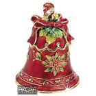 Craycombe Trinkets 6027 Christmas Bell Trinket Box  NEW  20609