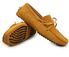 Barand New Suede Leather Lined Men's Currents Driving Moccasin Loafer Shoes