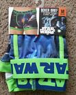 Star Wars Men's Boxer Briefs Size M or XL Boxers NEW