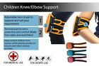 Children Knee Elbow Protective Support Pad 3 colours sold as a pair