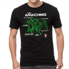 Starship Troopers Bug Schematic Men's Black T-shirt NEW Sizes S-2XL