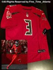 NEW Jameis Winston Tampa Bay Buccaneers Mens Red Color Rush Jersey